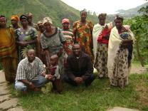 beneficiaries of goat project