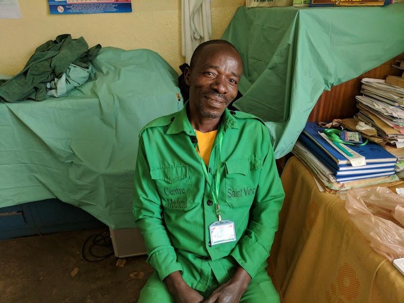 Banyawesize Dontien, St Vincent Support Staff