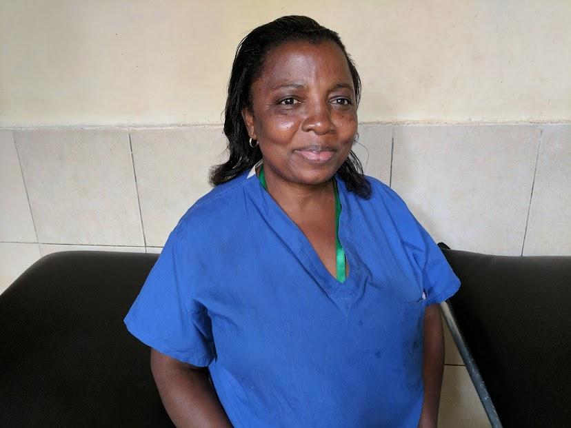 Kungwa Kasihdi, St Vincent Midwife